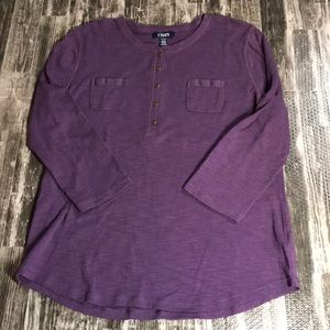 💥 3 for $20 Chaps Women's Henley
